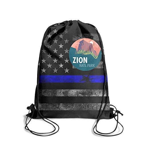 Zion National Park Unisex Drawstring Tote Breathability Waterproof Sports Sports Backpack