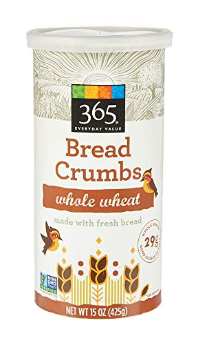 365 Everyday Value, Whole Wheat Bread Crumbs, 15 oz (Bread 100 Whole Wheat Crumbs)
