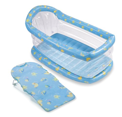 Amazon.com: Summer Infant Newborn-To-Toddler Inflatable Tub With ...