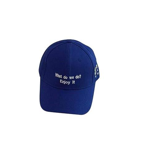 HLHD-womens hat Sombra Moda Juvenil Gorra versátil Gorra de ...