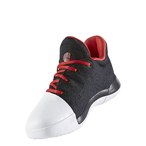 adidas Harden Vol.1 C� Shoe - Black/Scarlet/White - Boys - 3