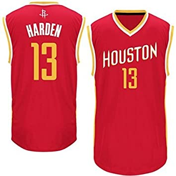 wholesale dealer 317bd c1b87 Mens James Harden #13 Houston Rockets Jersey - Red(L)