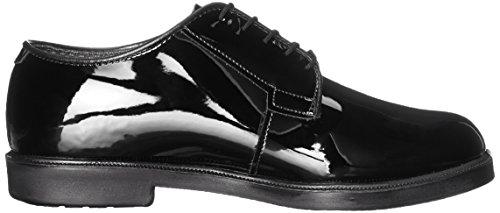 Bates Mens High Gloss Durashocks Work Shoe Black JBkIWj7H