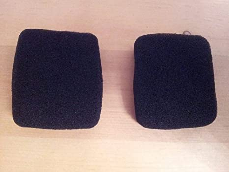 Replaceme Headphone EarPads Foam Cover For Bang  Olufsen BO Beoplay Form 2 Black