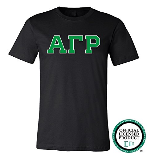 ALPHA GAMMA RHO | Green Letters - Licensed Unisex T-shirt