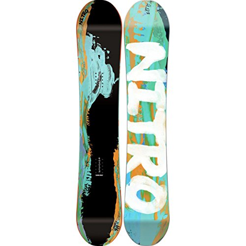 Nitro New 2016 Mercy Snowboard 149 cm Cam-Out Camber