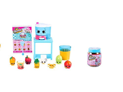 Shopkins Juice Smoothie Collection and Jar - Set from Chef Club Seasonal Edition (Shopkins Juicer compare prices)