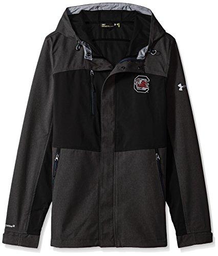 (Under Armour NCAA Men's Softshell Jacket, Black, Medium)