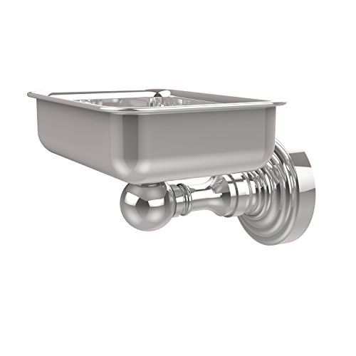 (Allied Brass WP-32-PC Waverly Place Collection Wall Mounted Soap Dish Polished Chrome)