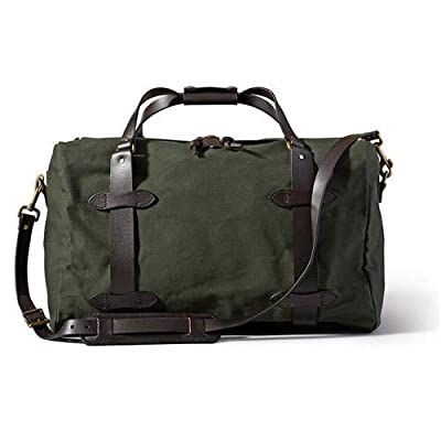 Image of Bag & Case Accessories Filson Rugged Twill Duffle Bag, Medium, Otter Green