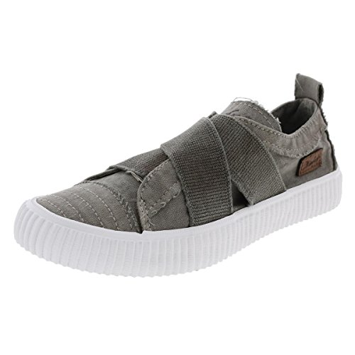 Blowfish Womens Cayo Strappy Low Top Casual Shoes Gray 7 Medium (B,M)