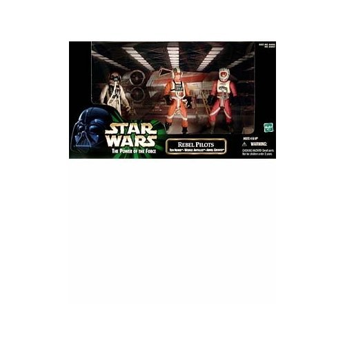 (Star Wars: Power of the Force Cinema Scenes Rebel Pilots (Ten Numb, Wedge Antilles, Arvel Crynyd) Action Figure Multi-Pa)