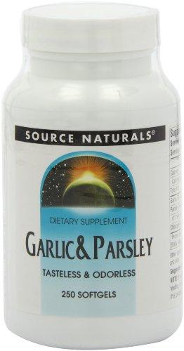 (Source Naturals Garlic & Parsley Oil 500/100 Mg 250 Softgels)