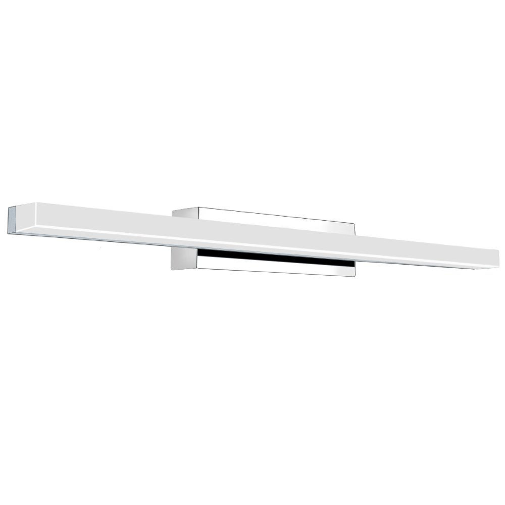 VanityライトLEDアクリル長方形チューブホワイト6000 Kバスルーム/寝室用yhtlaeh Vanityライト VN001 B07D3MVJBB 17511