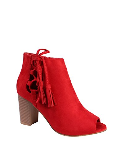 JEZZELLE JEZZELLE Zuecos Red mujer Zuecos para qg05qw81n