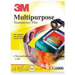 (50-Sheet Letter Transparencies for Inkjets Or Lasers)