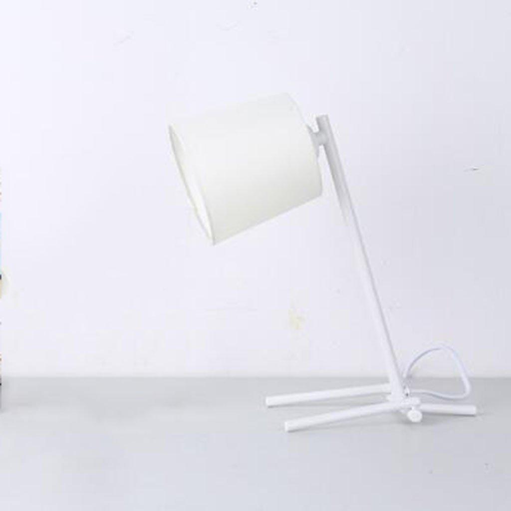 B DD- Schlafzimmer Nachttischlampen kreative Tischlampe (weiß, schwarz) (Farbe   B)