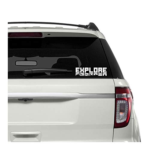 Underground Printing Explore Icons - Travel Outdoors Road Trip Hiking Vinyl Decal Sticker   7