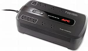 APC Battery Backup & Surge Protector (BE750G) - 750VA 10-outlet Uninterruptible Power Supply (UPS)