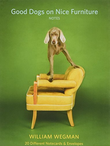 Good Dogs on Nice Furniture Notes: 20 Different Notecards & ()