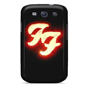 Durable Cell-phone Hard Cover For Samsung Galaxy S3 (dNG19719njUv) Custom High-definition Foo Fighters Series