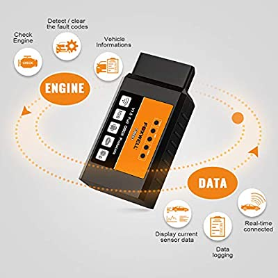 FOXWELL FW601 Elm327 Obd2 Scanner WiFi Code Reader Car Diagnostic Tool for iPhone, iPad & Android: Automotive