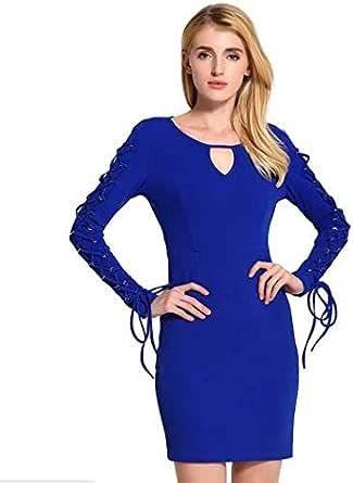 Blue Casual Dress For Women