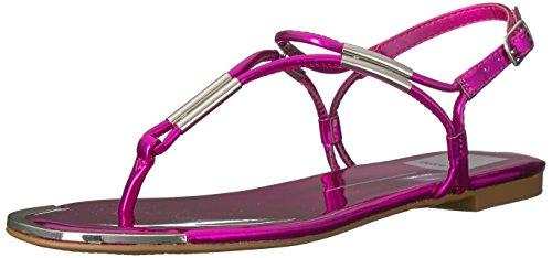 Dolce Vita Womens Marly Flat Sandal  Fuchsia  6 Uk 6 M Us