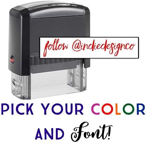 Custom Stamp Options Self Inking Address product image