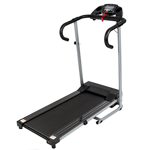 Black 500W Portable Folding Electric Motorized Treadmill Running Fitness Machine Most Viewed