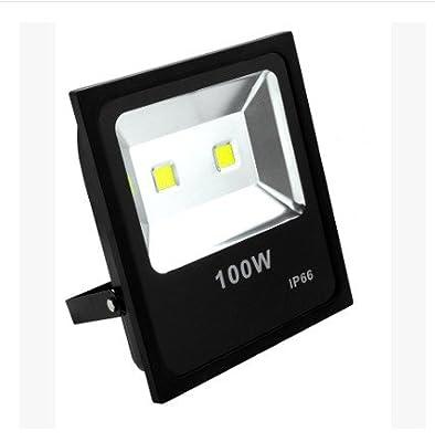 100W, 30W : Outdoor Floodlight LED RGB 10W 20W 30W 50W 220V Led Spotlight With Led Waterproof Reflector Landscape Lighting Wall Light