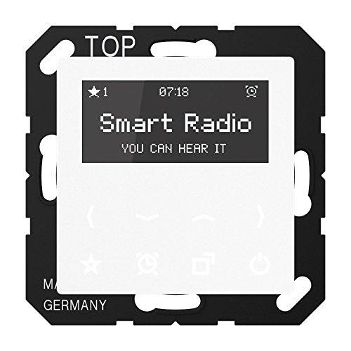 Jung Smart Radio Serie A Alpinweiß , 1 Stü ck, Rad A 508 WW