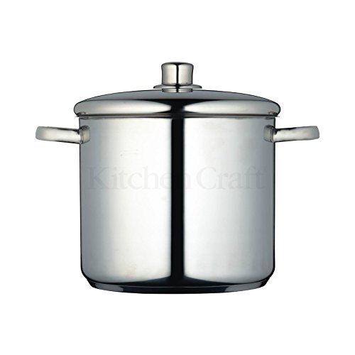 Masterclass Stainless Steel Stock Pot 24cm (Pack of 2)