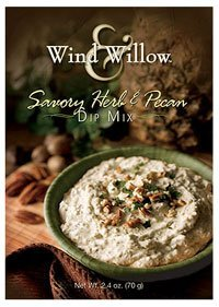 Wind & Willow Savory Herb & Pecan Dip Mix by Wind & Willow ()