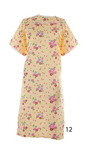 Womens Poly Cotton Backwrap Gown product image