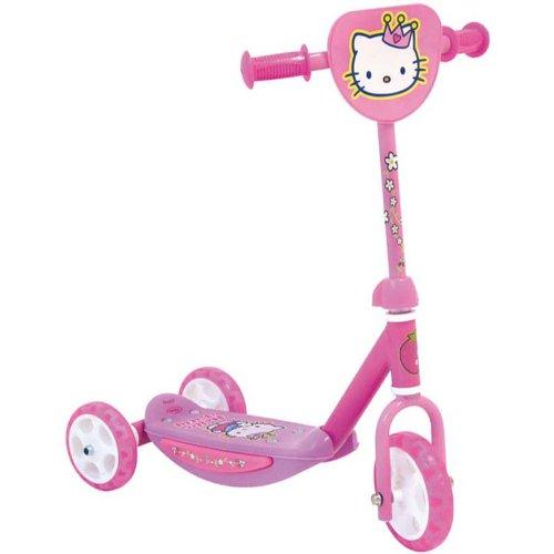 Darpeje - A1101841 - Vélo et Véhicule pour Enfants - Trottinette - 3 Roues - Hello Kitty