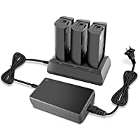 Anbee Bebop 2 Parallel Charging Multi Battery Charger, Fast Balance Charger Hub Station for Parrot Bebop 2/Bebop 2 FPV/Bebop 2 Adventurer Drone Quadcopter
