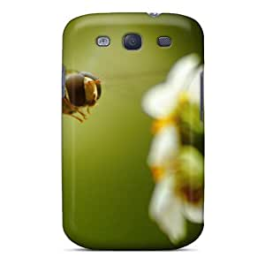 Fashion Tpu Case For Galaxy S3- Macro Bee Defender Case Cover