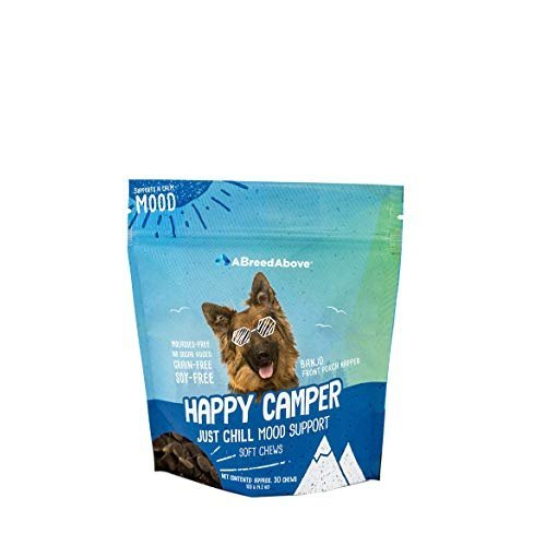 A Breed Above: Happy Camper Just Chill Mood Calming Support, 30 Count by A Breed Above: Happy Camper