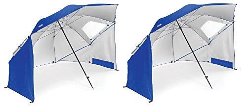 Sport-Brella Portable All-Weather and Sun Umbrella. 8-Foo...