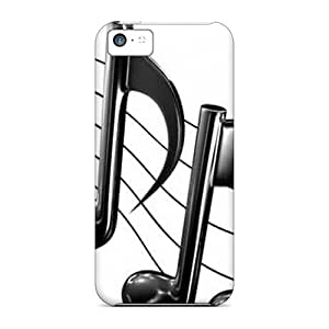 Fashionable Style Cases Covers Skin For Iphone 5c- Music