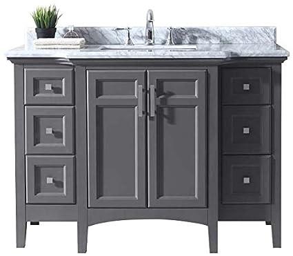 Ari Kitchen And Bath Luz Single Bathroom Vanity Set Akb Luz 48 Mpgr