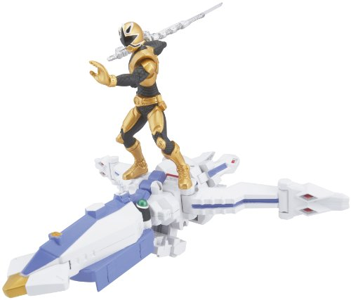 Power Ranger Zord Vehicle w/Figure, OctoZord with Gold -