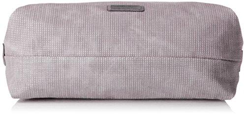 Gris Marco Mujer de bolsos Grey hombro y Shoppers 61016 Tozzi 8Oa78q1