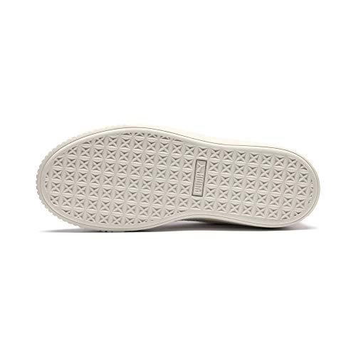 366723 02 Scallop Puma 41 Platform Bianco Lilla Basket Lilla Sneakers Wn's wgpw7q0x