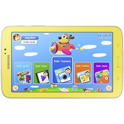 Samsung Galaxy Tab 3 Kids Edition (7-Inch with Orange Bumper Case) Coupons
