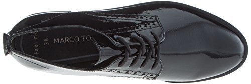 Scarpe Black Oxford Tozzi 23730 Nero Patent Donna Marco EOTqnxZ