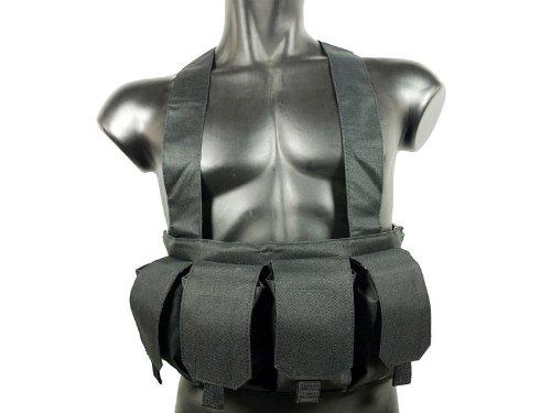 Duty Chest (MetalTac Black 6 Pocket Light duty chest Rig)