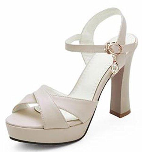 Sandali Alla Caviglia Con Cinturino Alla Caviglia E Tacco Alto Alla Moda Di Easemax