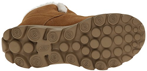 Skechers Performance Damen Go Walk Move Chugga Impressum Bootie Kastanie
